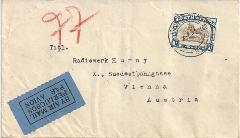 Österreichische Rohrpost der 1. Republik Bild47