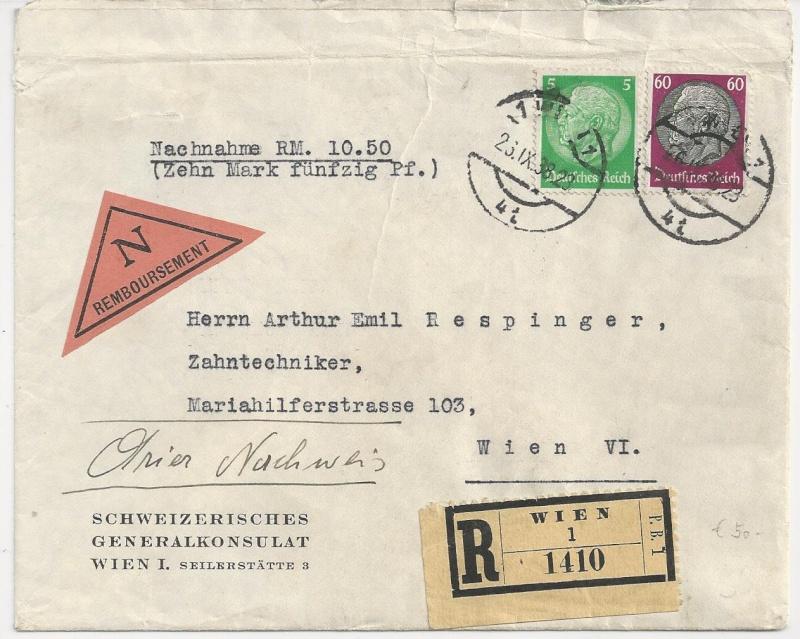 Österreich im III. Reich (Ostmark) Belege - Seite 6 Bild49