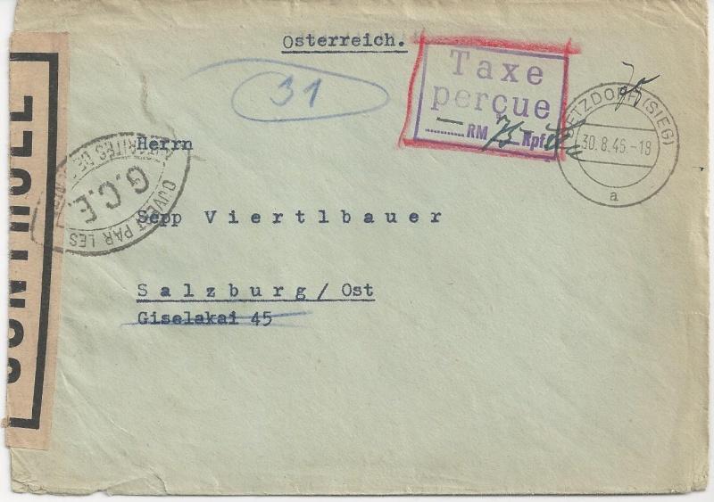 Französische Zone Deutschland 1946 Bild57