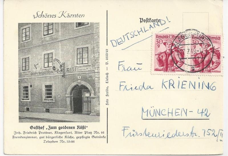 Werbeumschläge und -karten aus Österreich - Seite 4 Bild78