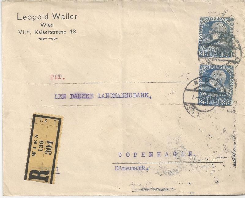 Private Briefumschläge Monarchie Bild79