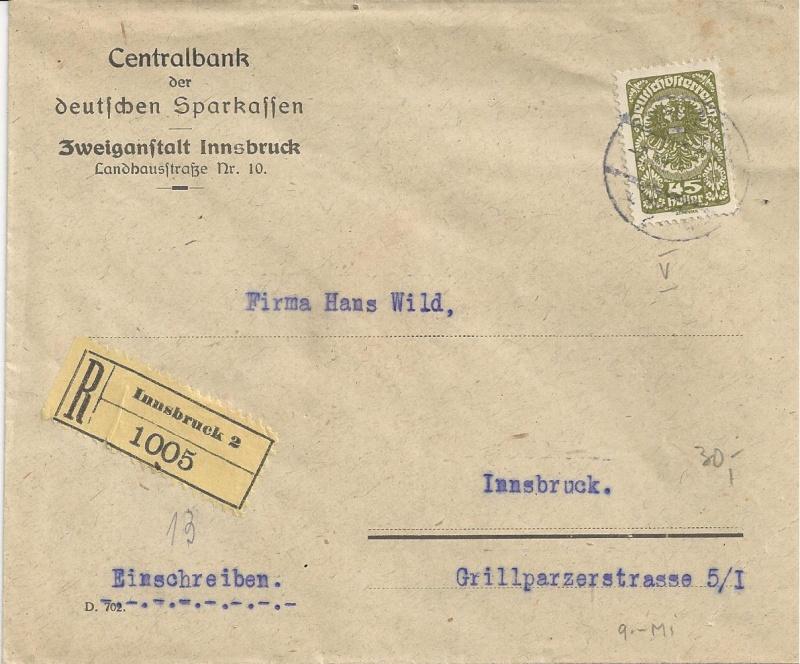 Inflation in Österreich - Belege - 1918 bis 1925 - Seite 6 Bild82