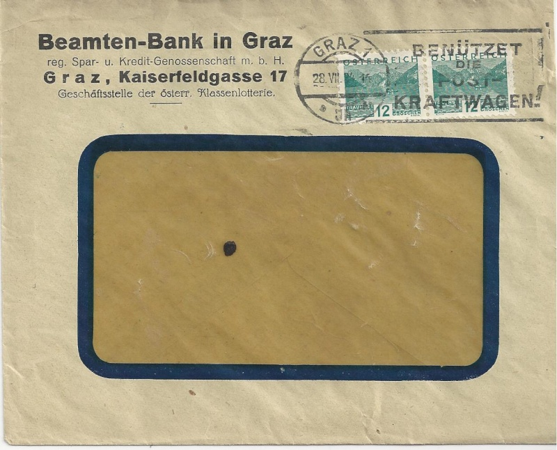 Briefe / Poststücke österreichischer Banken - Seite 3 Bild85