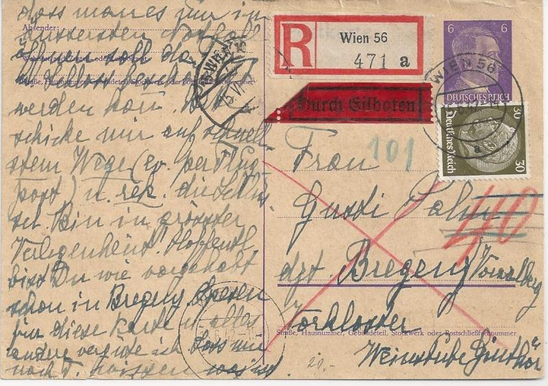 Österreich im III. Reich (Ostmark) Belege - Seite 6 Bild88