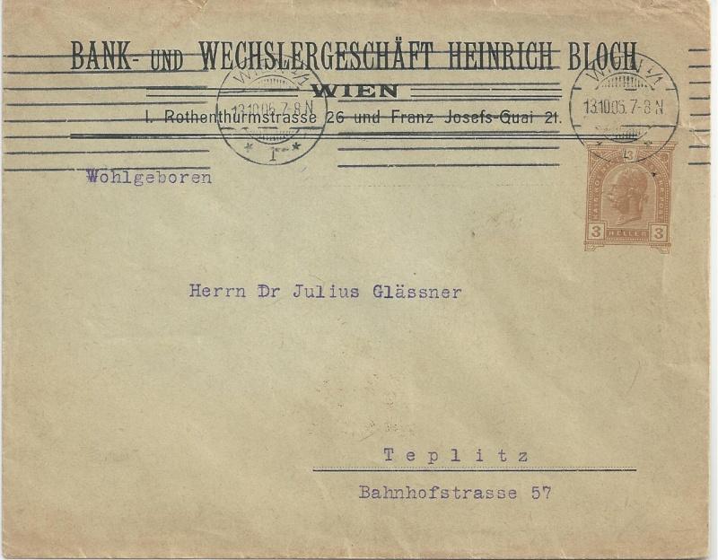 Private Briefumschläge Monarchie Bild91