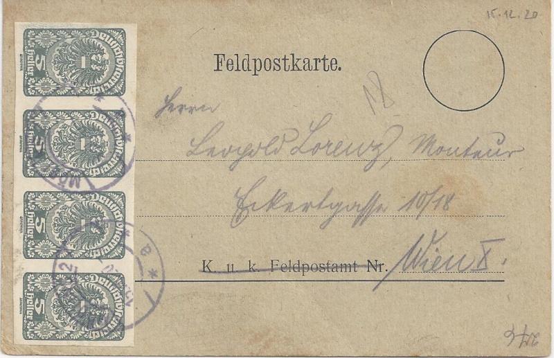 Inflation in Österreich - Belege - 1918 bis 1925 - Seite 6 Bild92