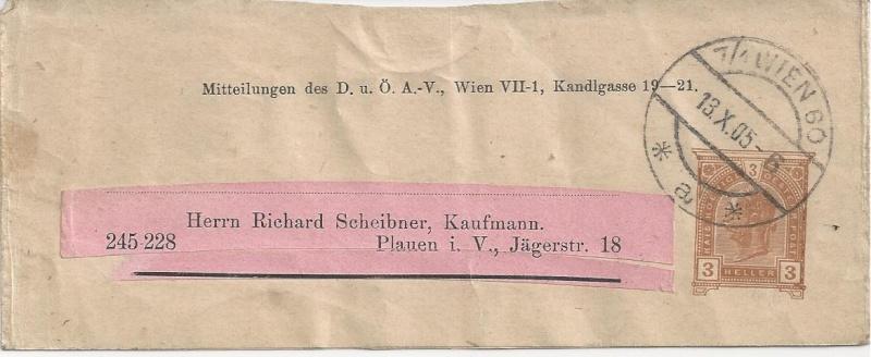 Streifbänder des DÖAV Bild94