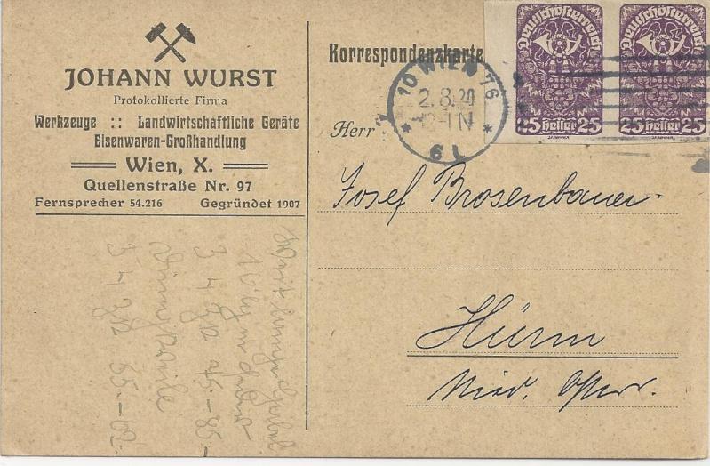 Inflation in Österreich - Belege - 1918 bis 1925 - Seite 6 Bild99