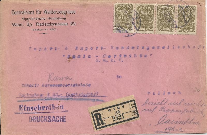 Inflation in Österreich - Belege - 1918 bis 1925 - Seite 6 Bild_110