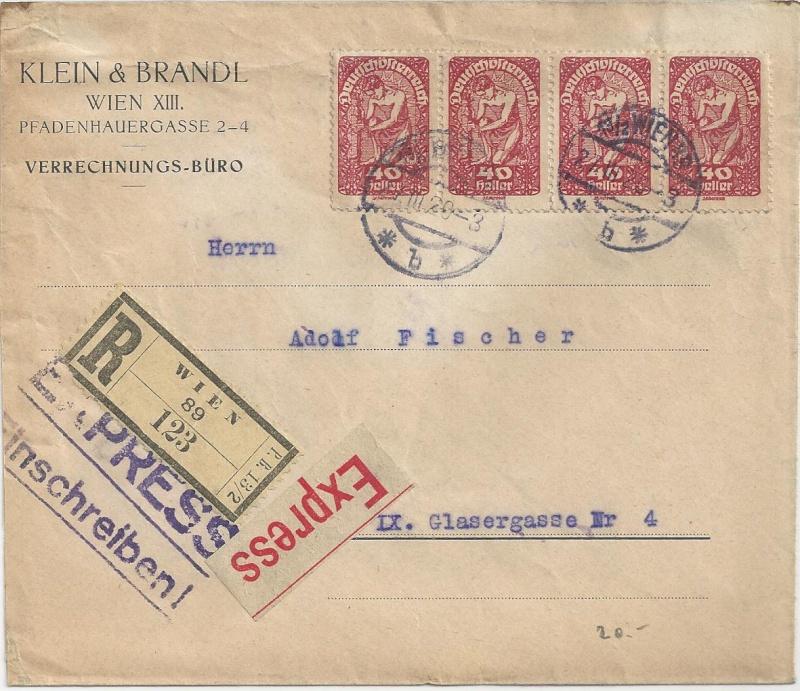 Inflation in Österreich - Belege - 1918 bis 1925 - Seite 6 Bild_111