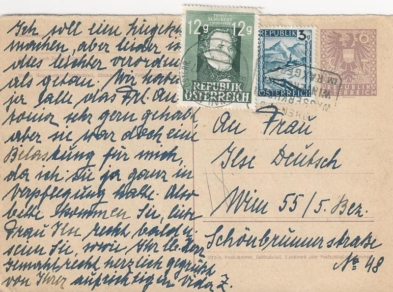 Bedarfspost Ganzsachen Österreich 1945-1947 Bild_216