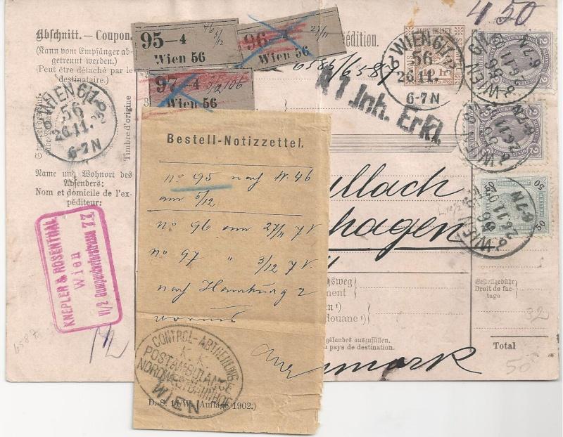 Postbegleitadressen mit fiskalischem Werteindruck Bild_224