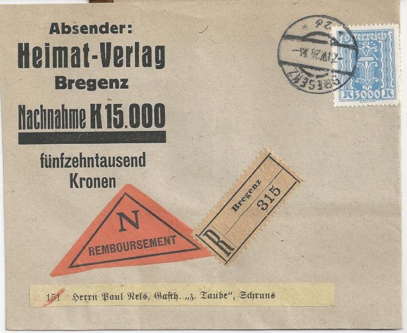 Inflation in Österreich - Belege - 1918 bis 1925 - Seite 5 Bild_226