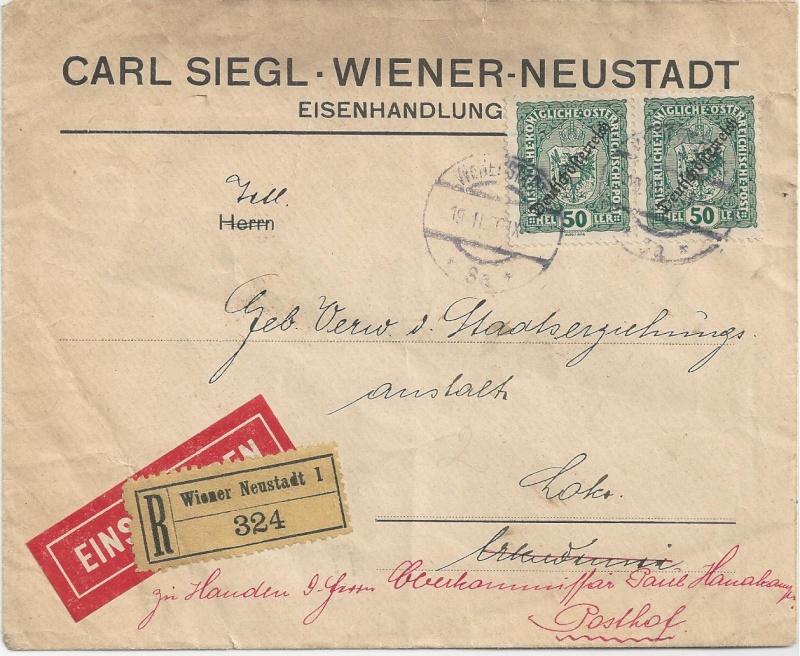 Inflation in Österreich - Belege - 1918 bis 1925 - Seite 6 Bild_245