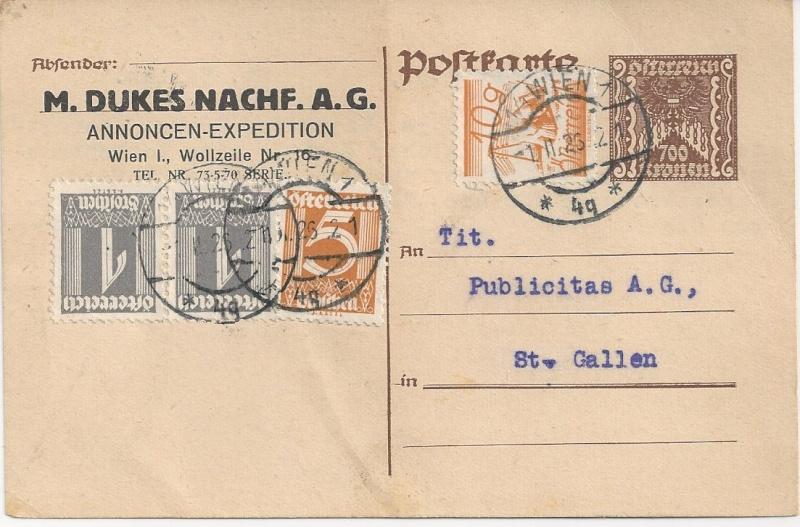 Inflation in Österreich - Belege - 1918 bis 1925 - Seite 6 Bild_254
