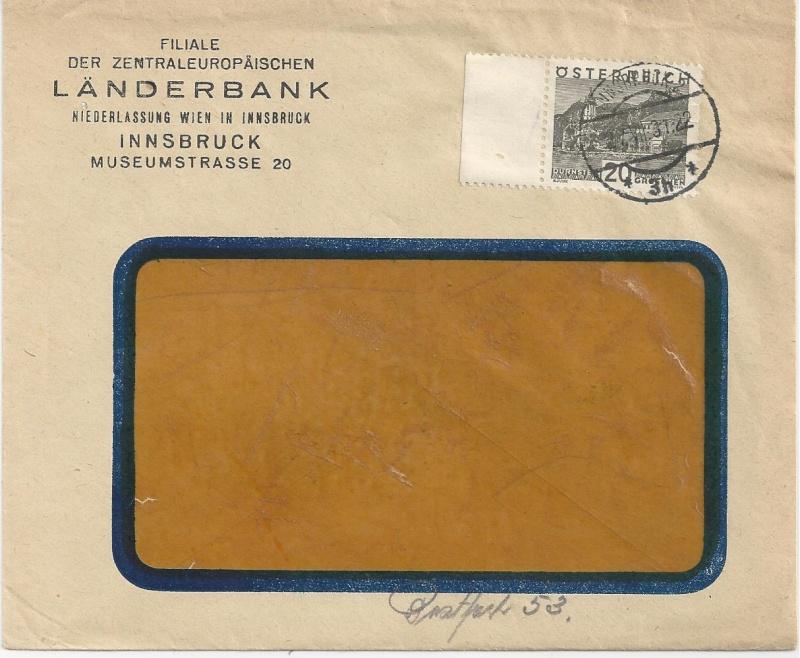 Briefe / Poststücke österreichischer Banken - Seite 3 Bild_257