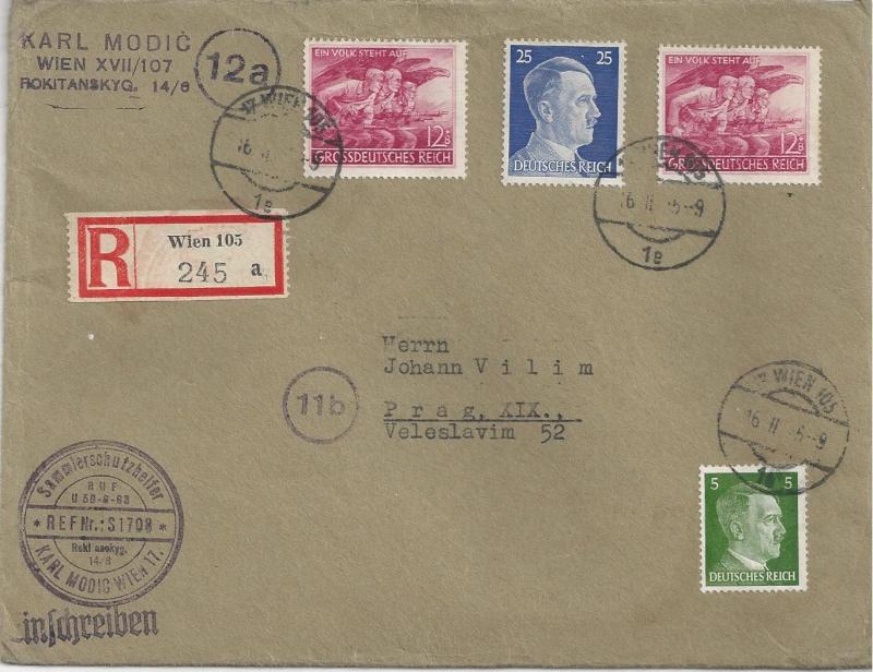 Österreich im III. Reich (Ostmark) Belege - Seite 6 Bild_258