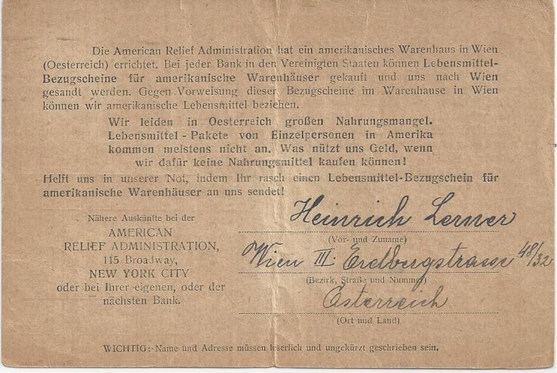 Inflation in Österreich - Belege - 1918 bis 1925 - Seite 6 Bild_261