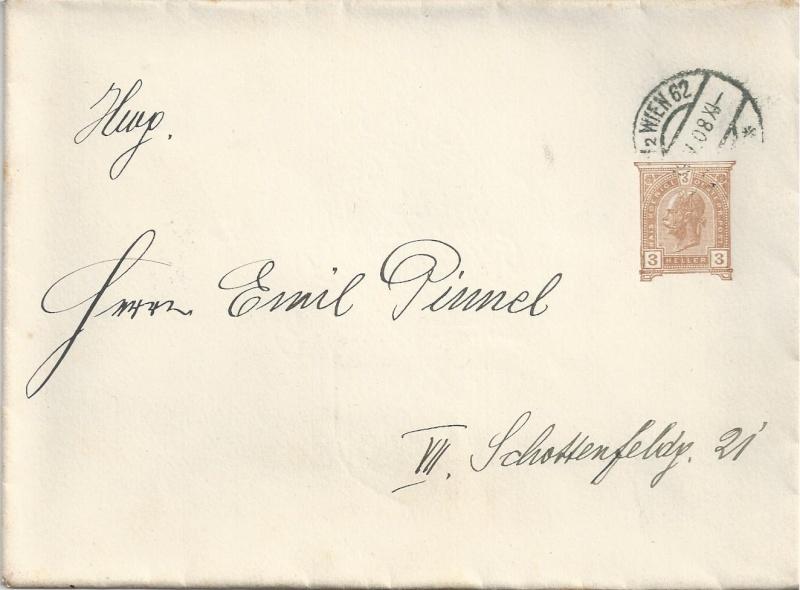 Private Briefumschläge Monarchie Bild_266