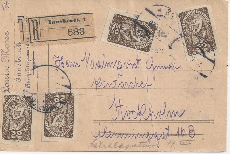 Inflation in Österreich - Belege - 1918 bis 1925 - Seite 6 Bild_267