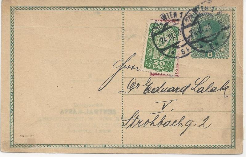 Inflation in Österreich - Belege - 1918 bis 1925 - Seite 5 Bild_313