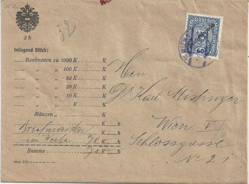 Inflation in Österreich - Belege - 1918 bis 1925 - Seite 5 Bild_314