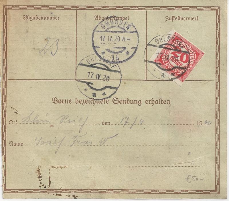 Inflation in Österreich - Belege - 1918 bis 1925 - Seite 5 Bild_319