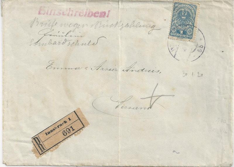 Inflation in Österreich - Belege - 1918 bis 1925 - Seite 6 Bild_329