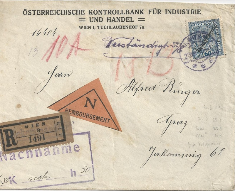 Inflation in Österreich - Belege - 1918 bis 1925 - Seite 6 Bild_335