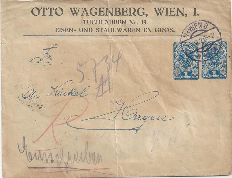 Inflation in Österreich - Belege - 1918 bis 1925 - Seite 6 Bild_338