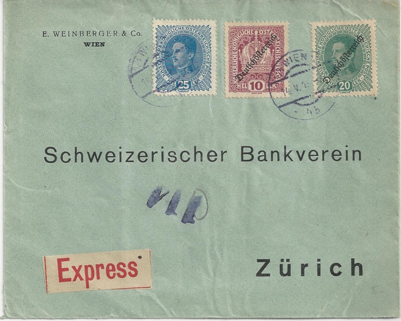 Inflation in Österreich - Belege - 1918 bis 1925 - Seite 6 Bild_341
