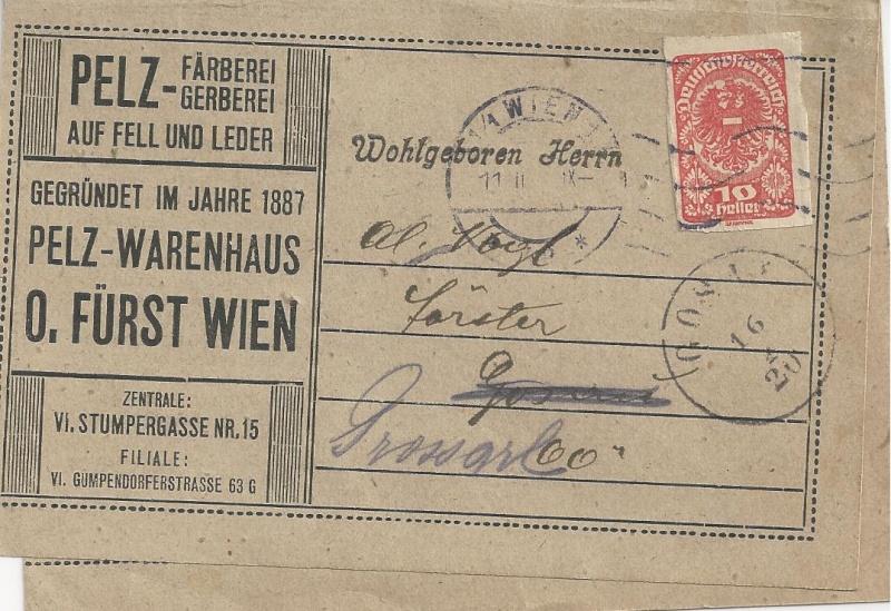 Inflation in Österreich - Belege - 1918 bis 1925 - Seite 6 Bild_345