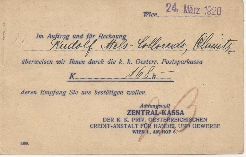 Inflation in Österreich - Belege - 1918 bis 1925 - Seite 5 Bild_411