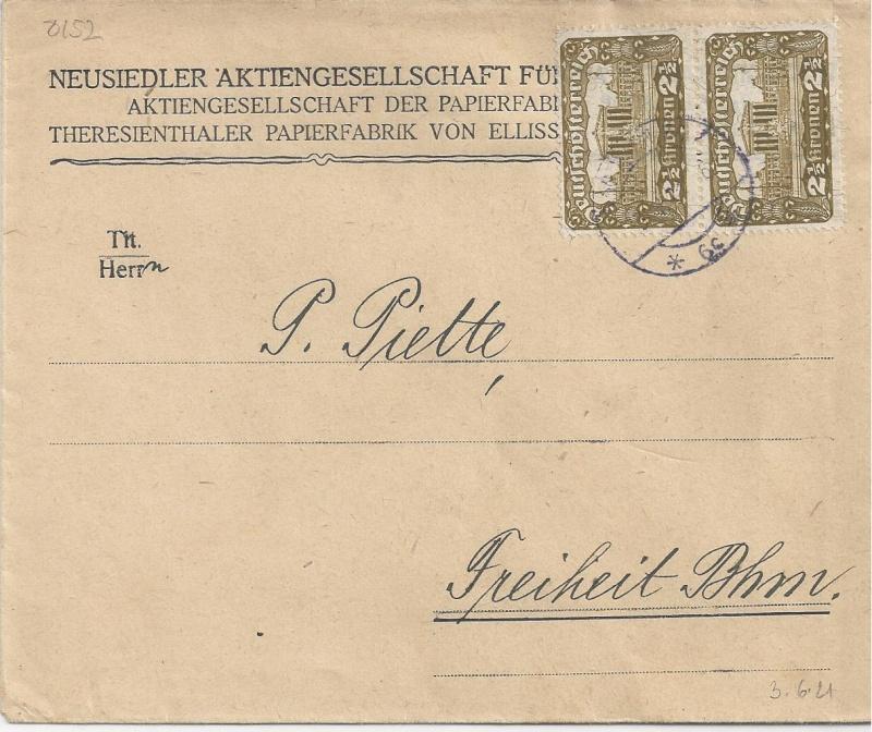 Inflation in Österreich - Belege - 1918 bis 1925 - Seite 5 Bild_412
