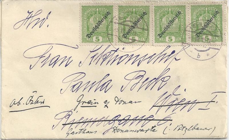 Inflation in Österreich - Belege - 1918 bis 1925 - Seite 6 Bild_423