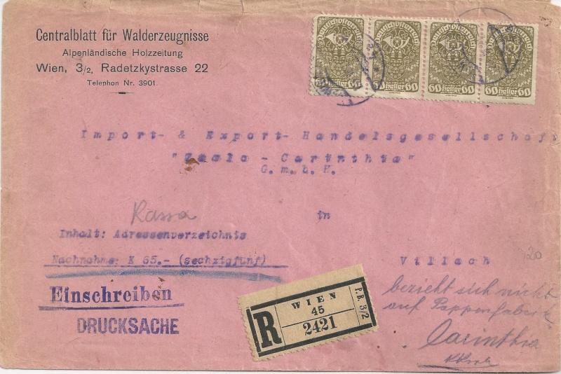 Inflation in Österreich - Belege - 1918 bis 1925 - Seite 6 Bild_433