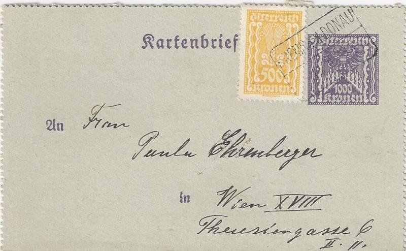 Inflation in Österreich - Belege - 1918 bis 1925 - Seite 5 Bild_511