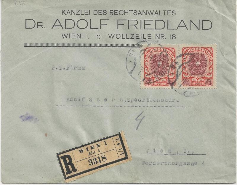 Inflation in Österreich - Belege - 1918 bis 1925 - Seite 5 Bild_513