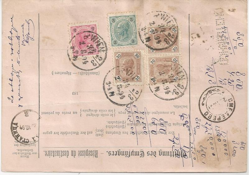 Postbegleitadressen mit fiskalischem Werteindruck Bild_517
