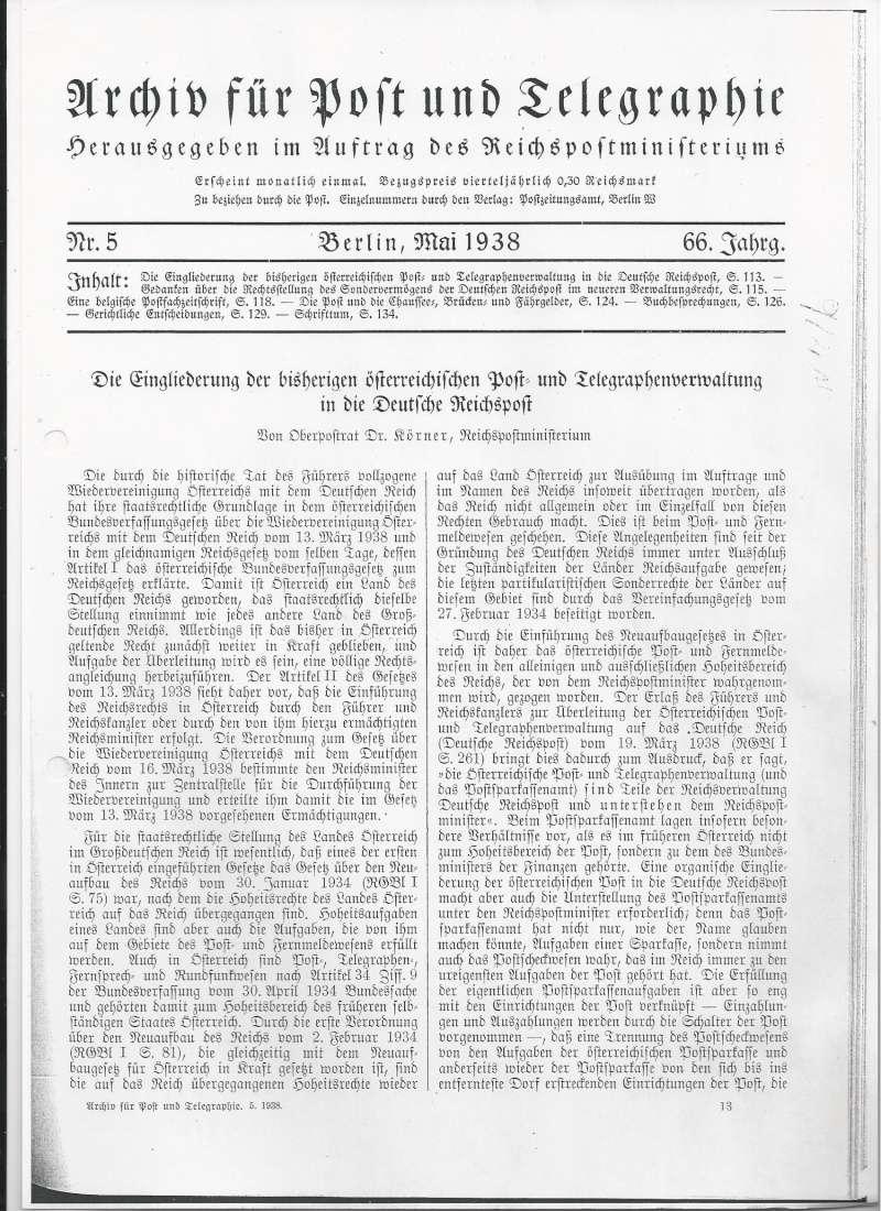 Österreich im III. Reich (Ostmark) Belege - Seite 6 Bild_520