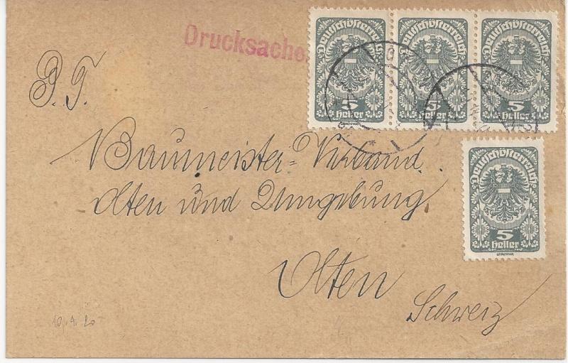 Inflation in Österreich - Belege - 1918 bis 1925 - Seite 6 Bild_525