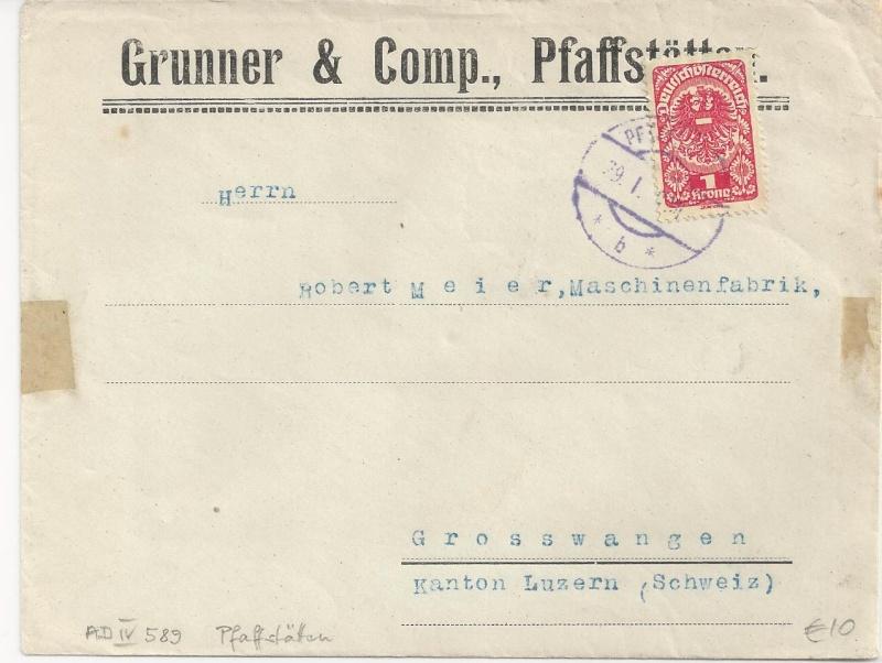 Inflation in Österreich - Belege - 1918 bis 1925 - Seite 6 Bild_531