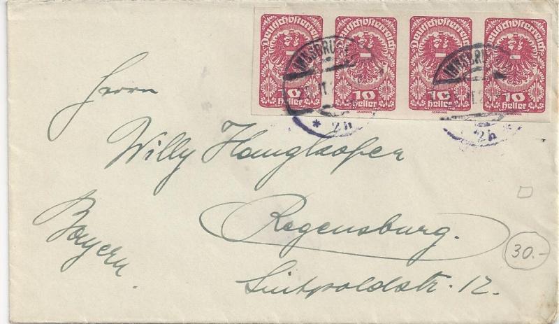 Inflation in Österreich - Belege - 1918 bis 1925 - Seite 6 Bild_532