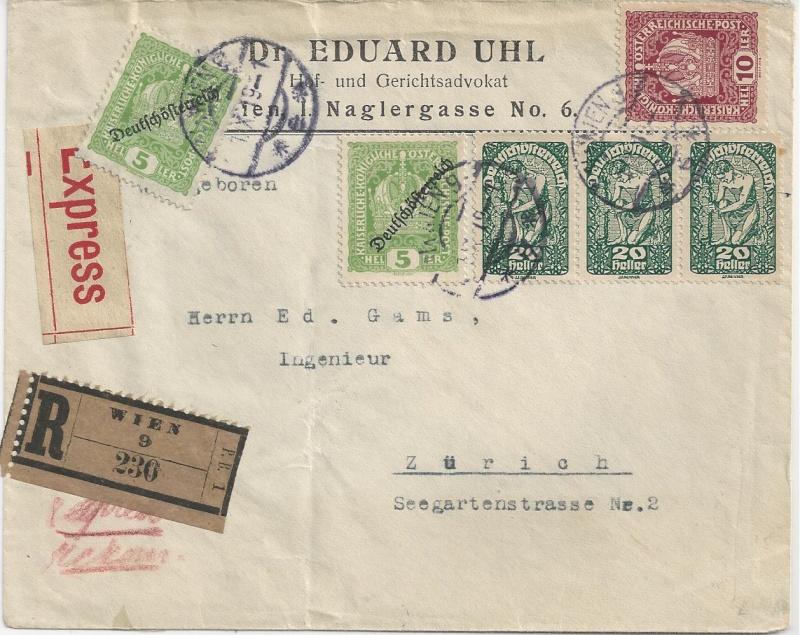 Inflation in Österreich - Belege - 1918 bis 1925 - Seite 6 Bild_615