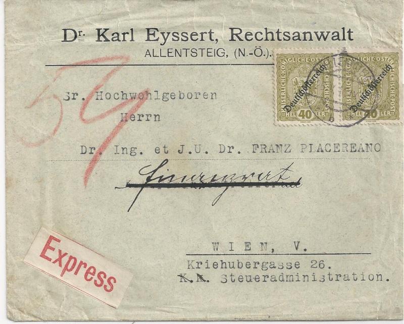 Inflation in Österreich - Belege - 1918 bis 1925 - Seite 6 Bild_616