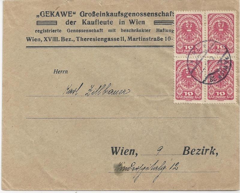 Inflation in Österreich - Belege - 1918 bis 1925 - Seite 6 Bild_716