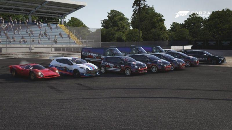 2° édition de l'ECC ( European Clio Cup ) Ncl11