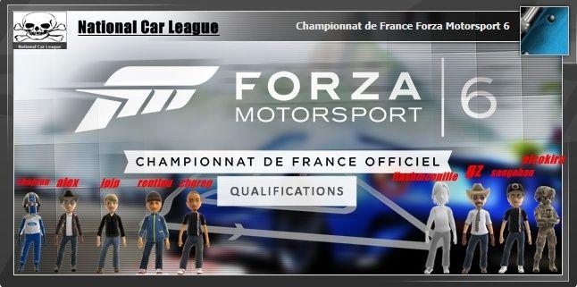 Qualification CDF classement division et série  Qualif11