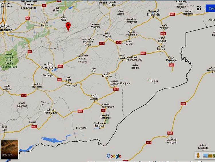 tazarine ! on a tenté de vous la cacher, elle n'a plus de secret ce paradis Amazigh Ouarza12