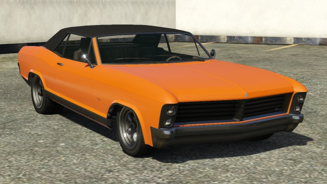 GTA V - Nouvelle DLC Lowriders Orange10
